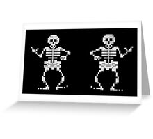 Bone Parents Dance (Monkey Island 2) Greeting Card