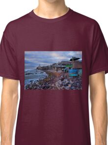 View of Baja Fox Studios from Popotla, Baja Classic T-Shirt