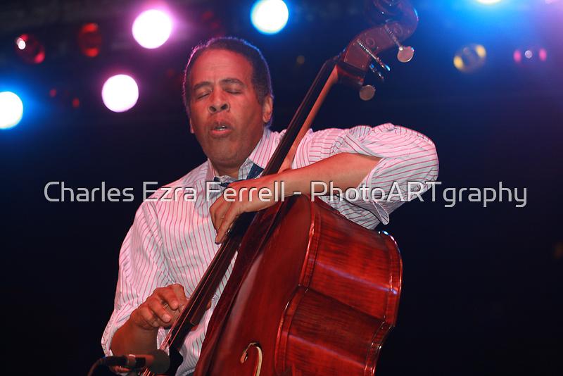 Stanley Clarke - Master Bassist by Charles Ezra Ferrell - PhotoARTgraphy