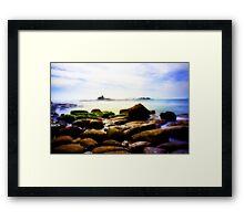 Coastline Baja Norte Framed Print