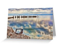 Salton Sea Greeting Card