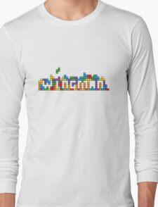 Wingman.com.au 'Tetris Tee' Long Sleeve T-Shirt