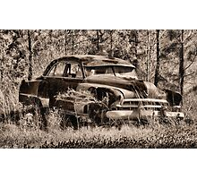 OLD CADDY Photographic Print