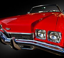 1972 Chevy Impala Convertible by Kurt Golgart