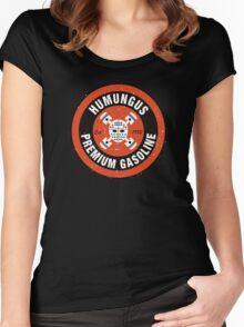 Humungus Premium Gasoline Women's Fitted Scoop T-Shirt