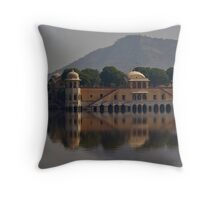 Jal Mahal Jaipur Throw Pillow