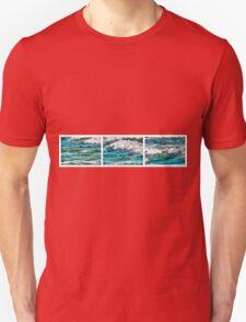 Cresting Waves Triptych T-Shirt