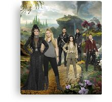 Once Upon a Time in Oz Canvas Print