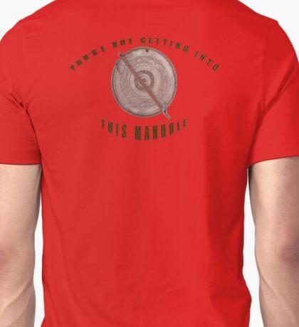 Locked Manhole Unisex T-Shirt