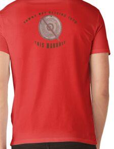 Locked Manhole Mens V-Neck T-Shirt