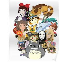 Studio Ghibli Collage Poster