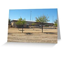 Whey Street Primary Assembly Hall  Greeting Card