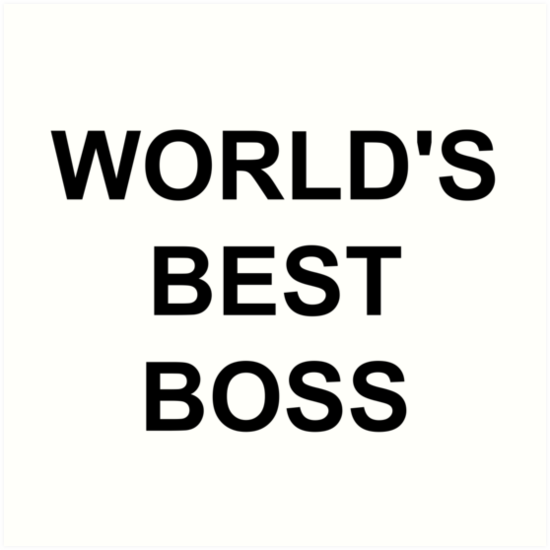 """Michael Scott's World's Best Boss mug"" Art Prints by ..."