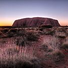 The Dreaming  Uluru by William Bullimore