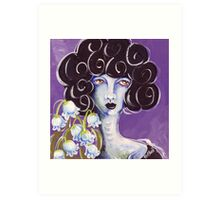 Flower Girl - Lily of the Valley Art Print