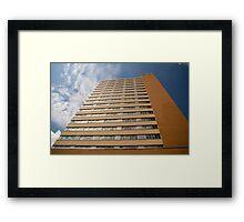 Great Plains Building Framed Print