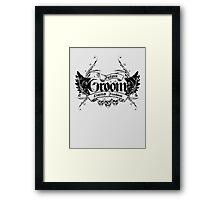 Groom Framed Print