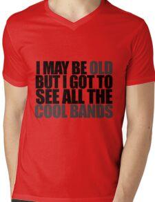 old humor Mens V-Neck T-Shirt