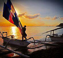 Balinese boat by John Miner