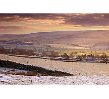 A Wharfedale Morning Photographic Print