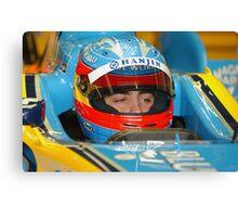 F1 Star Fernando Alonso Canvas Print