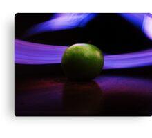 Electrical Apple Canvas Print