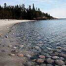 First Lagoon on Lake Superior at Marathon Ontario by loralea