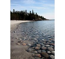 First Lagoon on Lake Superior at Marathon Ontario Photographic Print