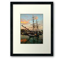 Tall Ships.... Framed Print