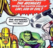 First Issue of The Avengers Sticker