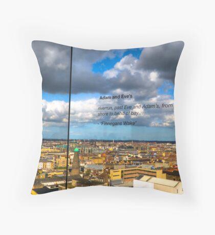 Guinness Storehouse view- Dublin Ireland Throw Pillow