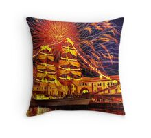 Happy Birthday, America! Throw Pillow