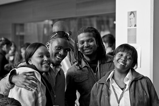 African singing group at ABC Southbank by Alex Khun