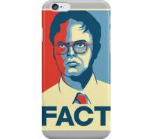 Fact - Dwight Schrute iPhone Case/Skin