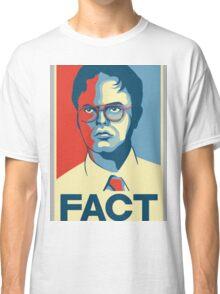 Fact - Dwight Schrute Classic T-Shirt