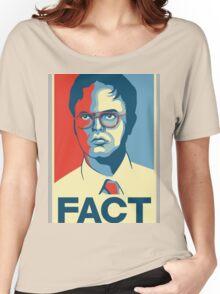 Fact - Dwight Schrute Women's Relaxed Fit T-Shirt