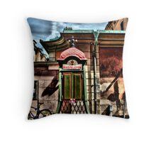 Old Town,Stockholm... Throw Pillow