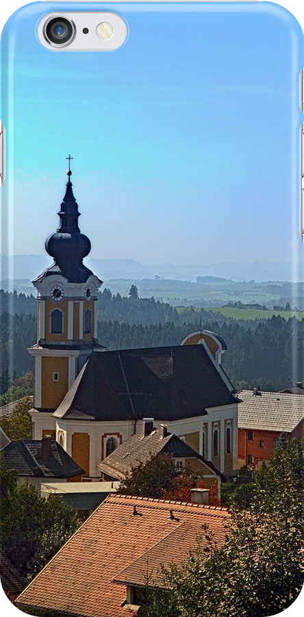 Village church, skyline and panorama | landscape photography by Patrick Jobst