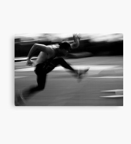 Action man Canvas Print