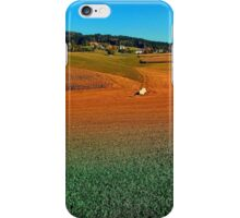 Colorful farmland scenery | landscape photography iPhone Case/Skin