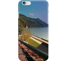 Road into Danube valley | waterscape photography iPhone Case/Skin