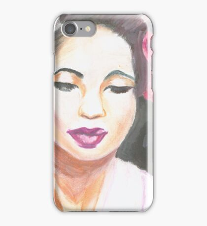 Lady Day iPhone Case/Skin