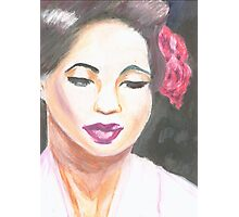 Lady Day Photographic Print