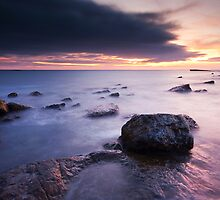 Filey Brigg, North Yorkshire by Photomh