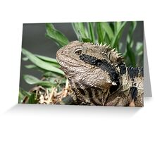 Water Dragon # 2 Greeting Card