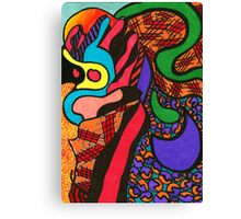 Multi-Coloured Fingers Canvas Print