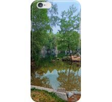 Romantic moments at the lake | waterscape photography iPhone Case/Skin