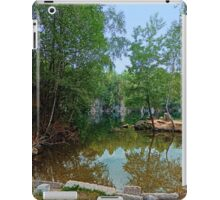Romantic moments at the lake | waterscape photography iPad Case/Skin