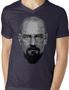 Breaking Bad - Heisenberg ( Vector ) Mens V-Neck T-Shirt