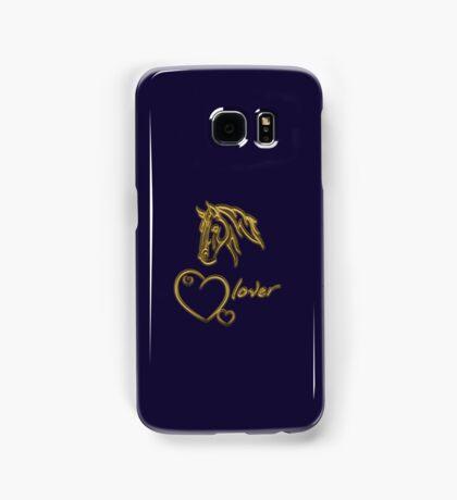 """""""Horselover""""- golden edit Samsung Galaxy Case/Skin"""